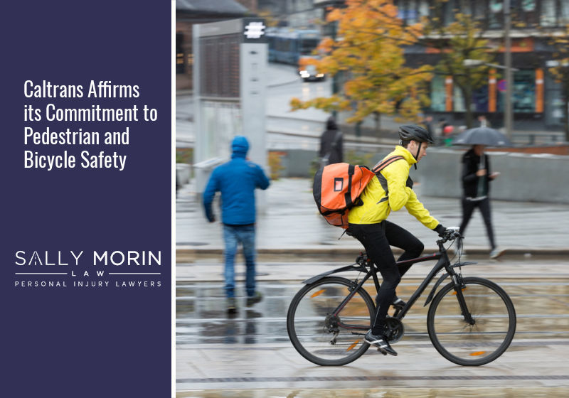 Caltrans Affirms its Commitment to Pedestrian and Bicycle Safety