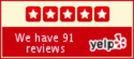 91 Yelp Reviews