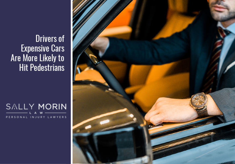 Drivers of Expensive Cars Are More Likely to Hit Pedestrians