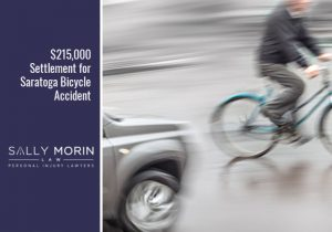 $215,000 Settlement for Saratoga Bicycle Accident