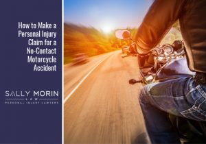 Making a Personal Injury Claim After a No-Contact Motorcycle Crash Sally Morin Law