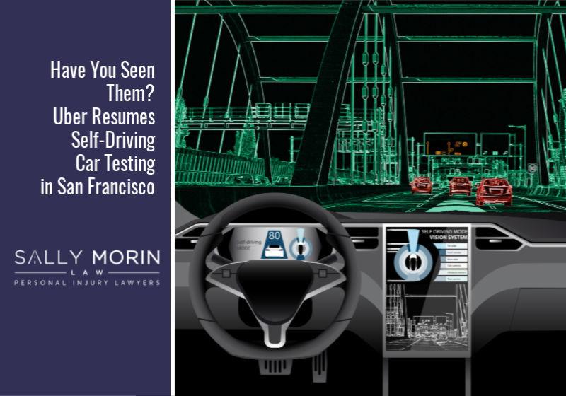 Uber Resumes Self-Driving Car Testing in San Francisco