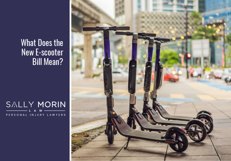 What the New E-scooter Bill means