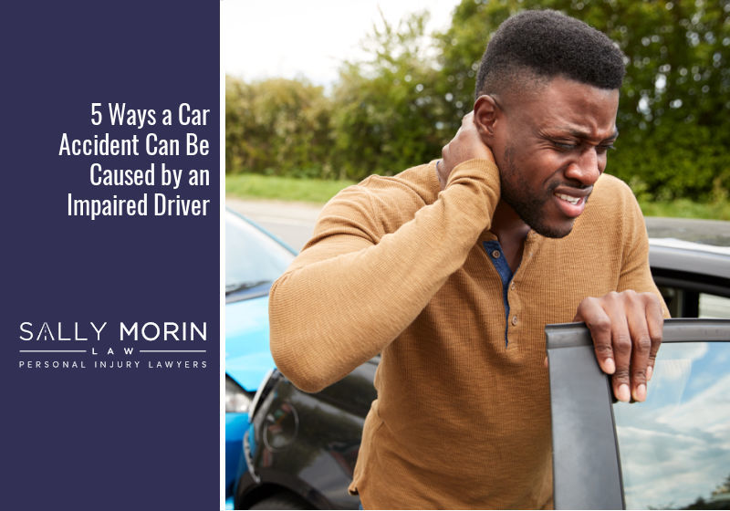 5 Ways a Car Accident Can Be Caused by an Impaired Driver