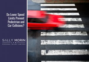 Speed Limits and Pedestrian and Car Accidents