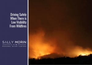 Safe Driving During Low Wildfire Visibility