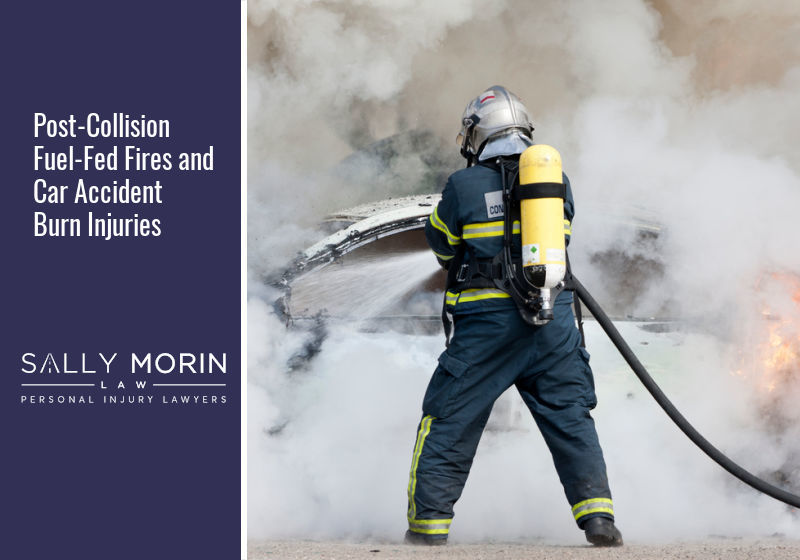 Post-Collision Fuel-Fed Fires and Car Accident Burn Injuries