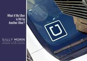 Call Sally Morin Personal Injury Lawyers at 877-380-8852 if you're in an Uber vs. Uber accident