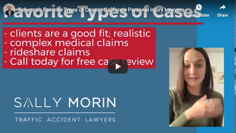 Sally Morin Law - Rebecca's favorite types of cases