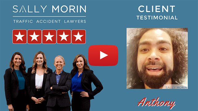 Sally Morin Law - Testimonial from client Anthony